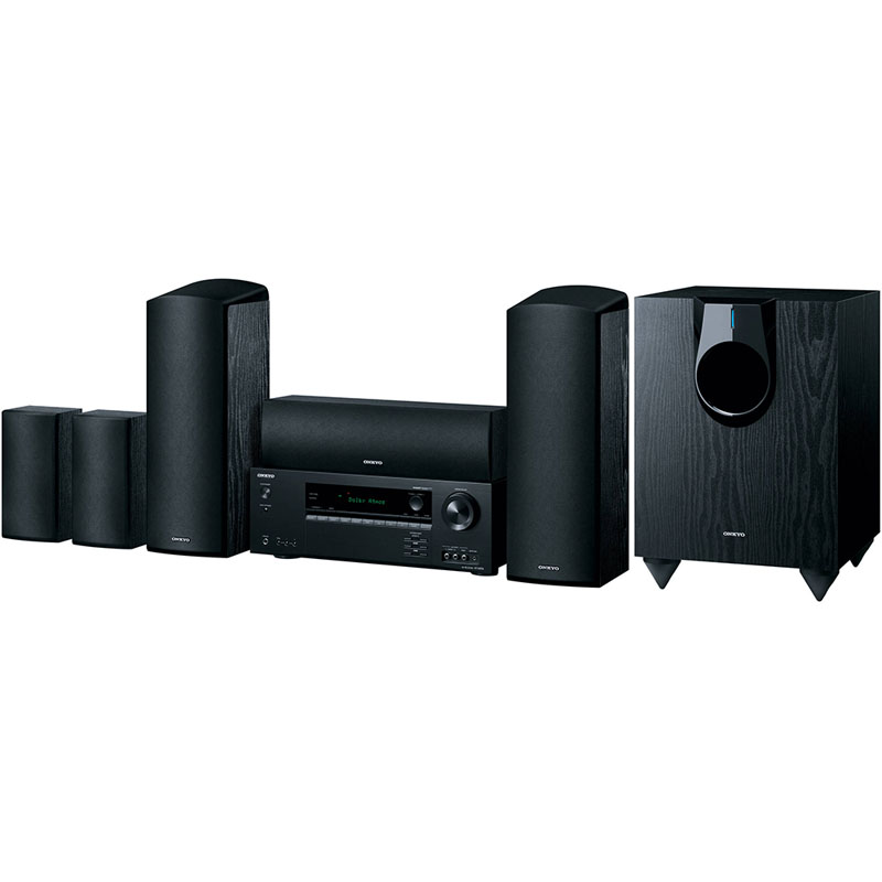 Home theater in-a-box (HTIB)