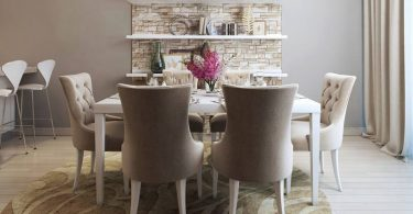 Como montar a sala de jantar?